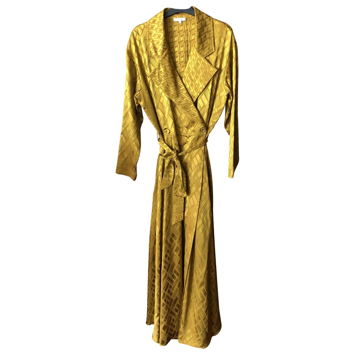 Layeur \N Kleid in  Gelb Viskose