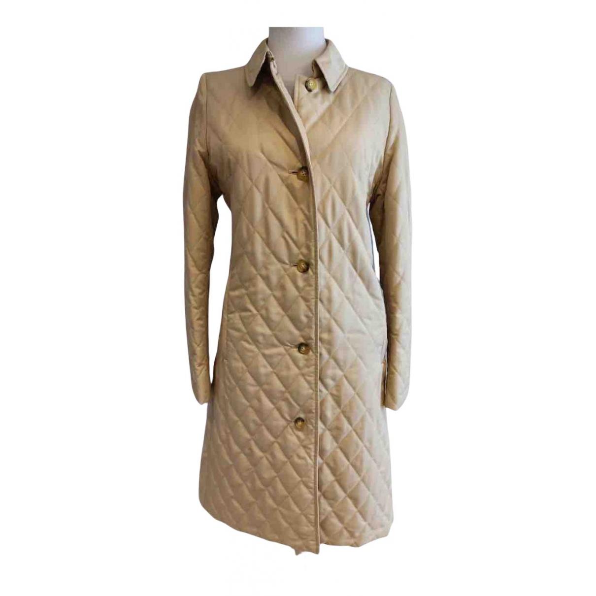 Burberry N Beige coat for Women 36 FR