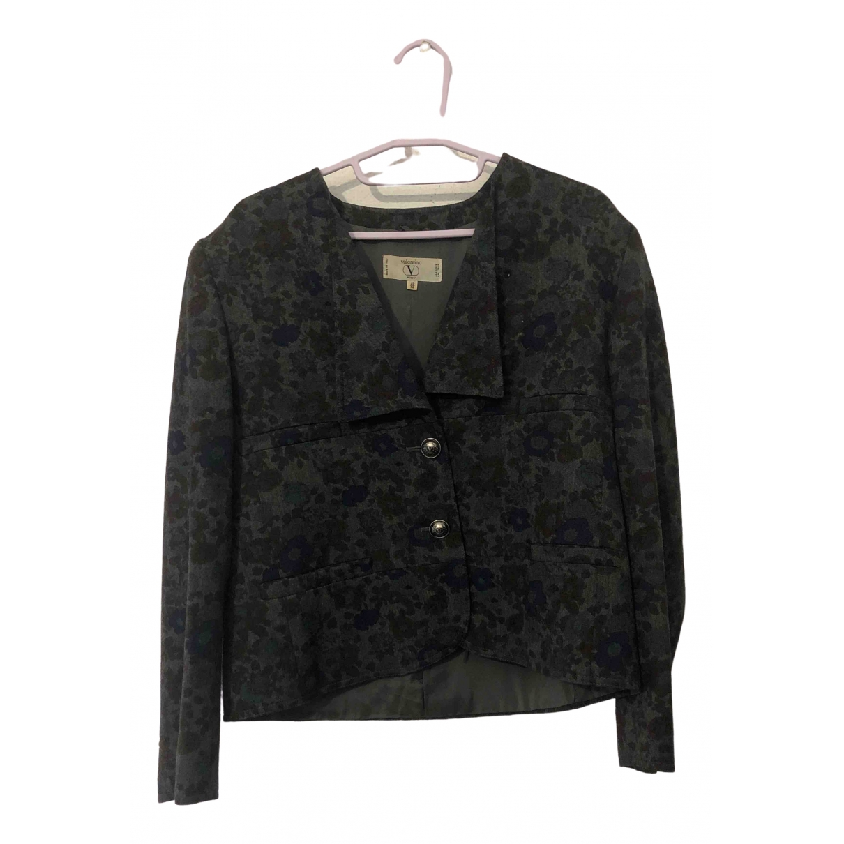 Non Signé / Unsigned \N Multicolour Wool jacket for Women 48 IT