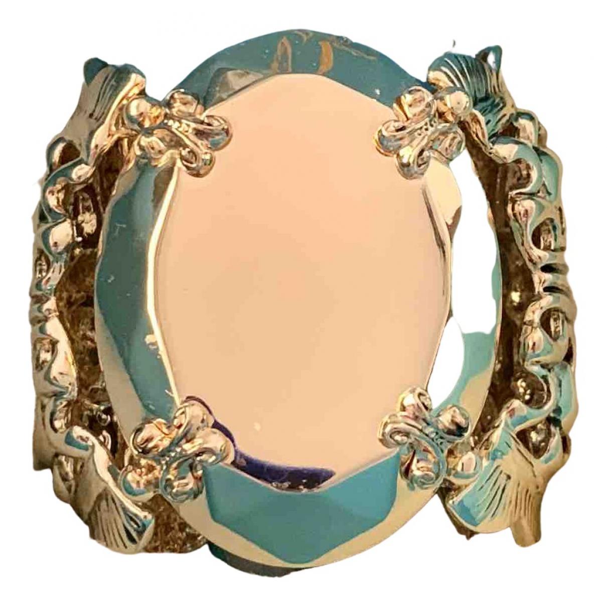 Anna Dello Russo Pour H&m - Bracelet   pour femme en metal - dore