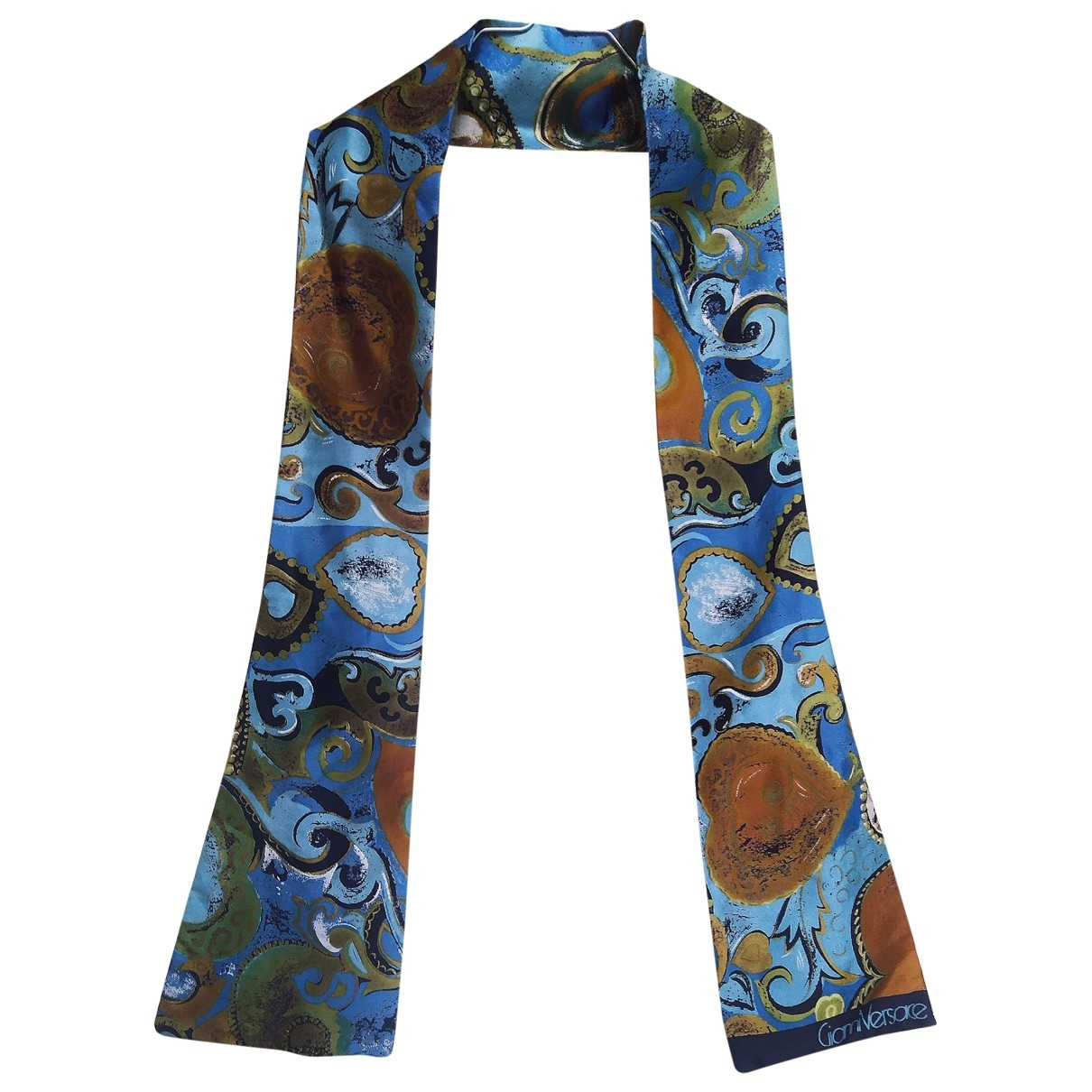 Versace \N Multicolour Silk scarf & pocket squares for Men \N
