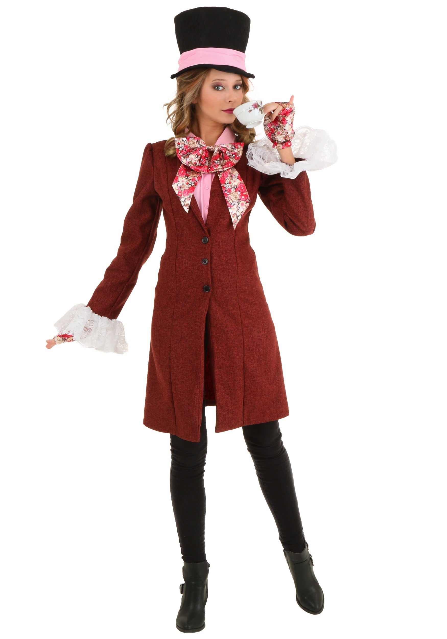 Women's Deluxe Mad Hatter Costume