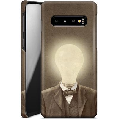 Samsung Galaxy S10 Smartphone Huelle - The Idea Man von Terry Fan