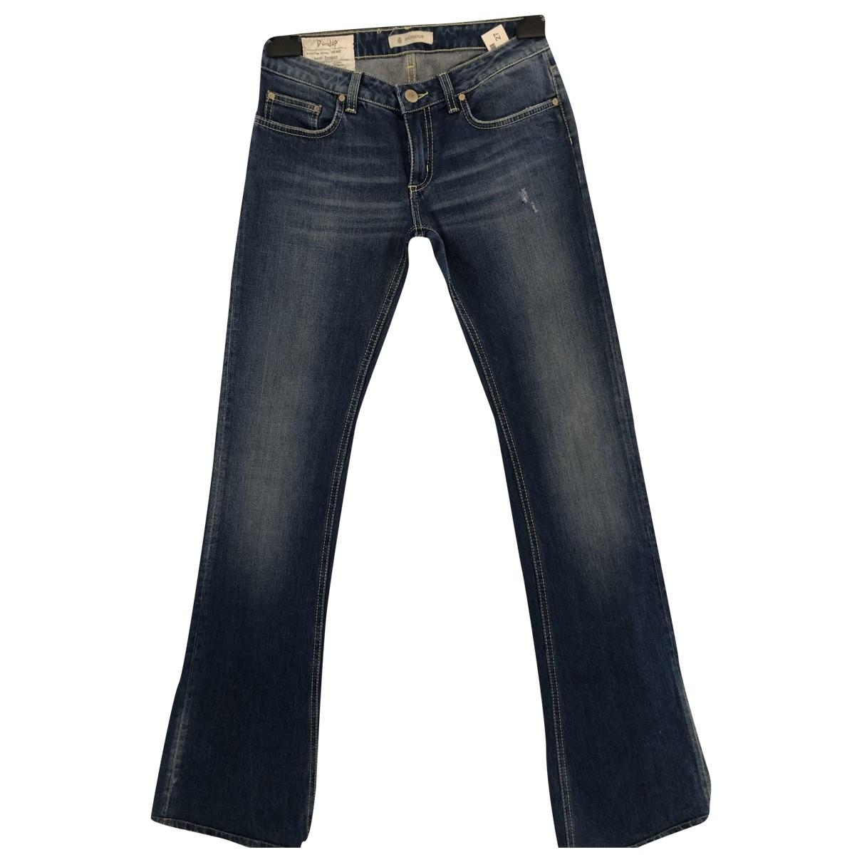 Dondup \N Blue Denim - Jeans Jeans for Women 27 US