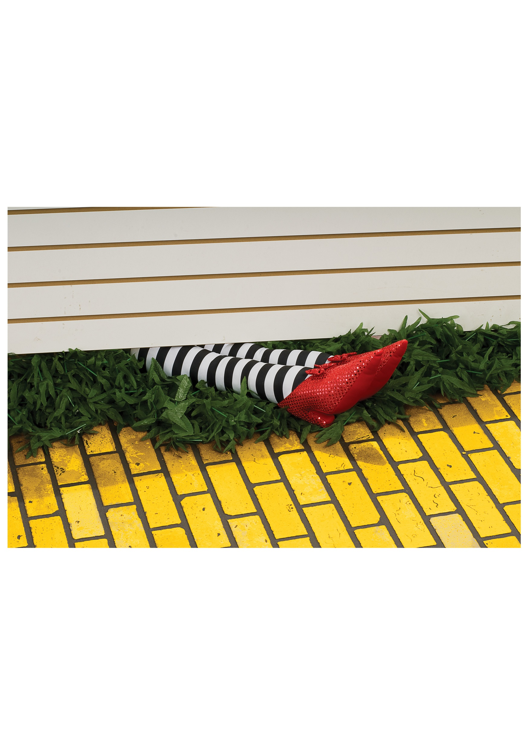 Wicked Witch Legs Prop Halloween Decoration