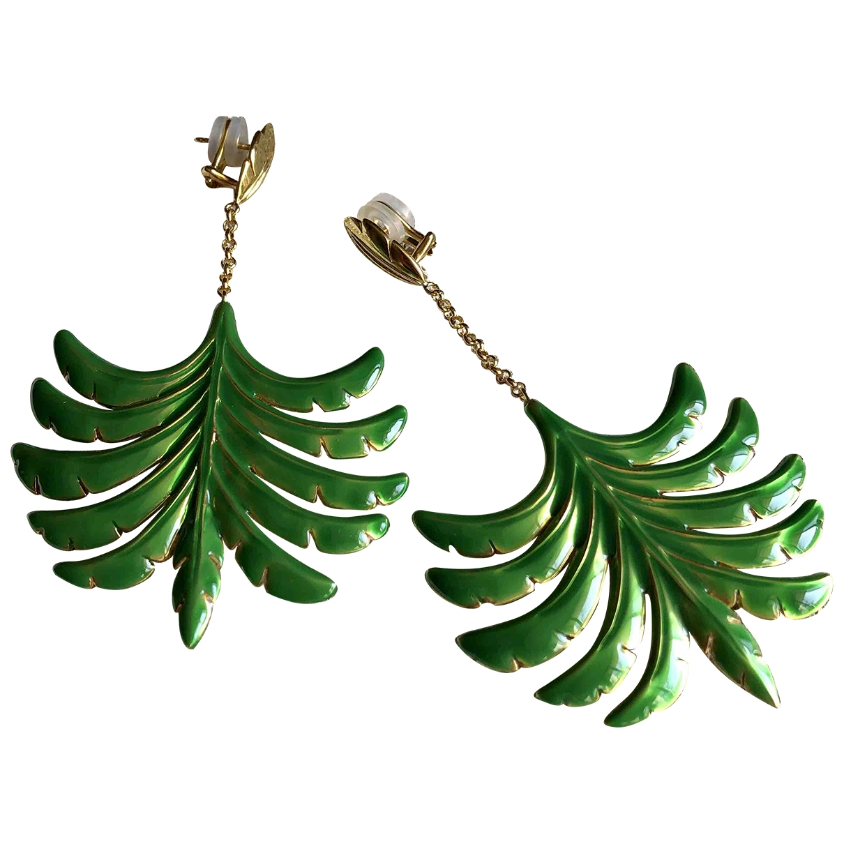 Aurelie Bidermann \N Multicolour Gold plated Earrings for Women \N