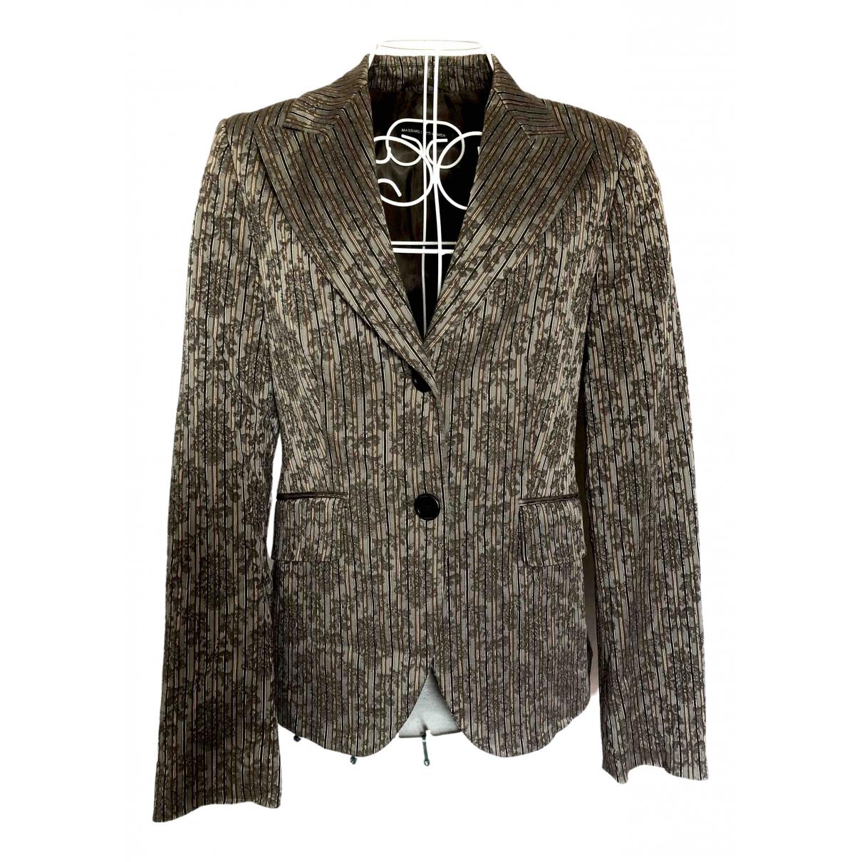 Massimo Dutti \N Multicolour Cotton jacket for Women M International