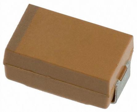AVX Tantalum Capacitor 100μF 16V dc Electrolytic Solid, TPS (500)