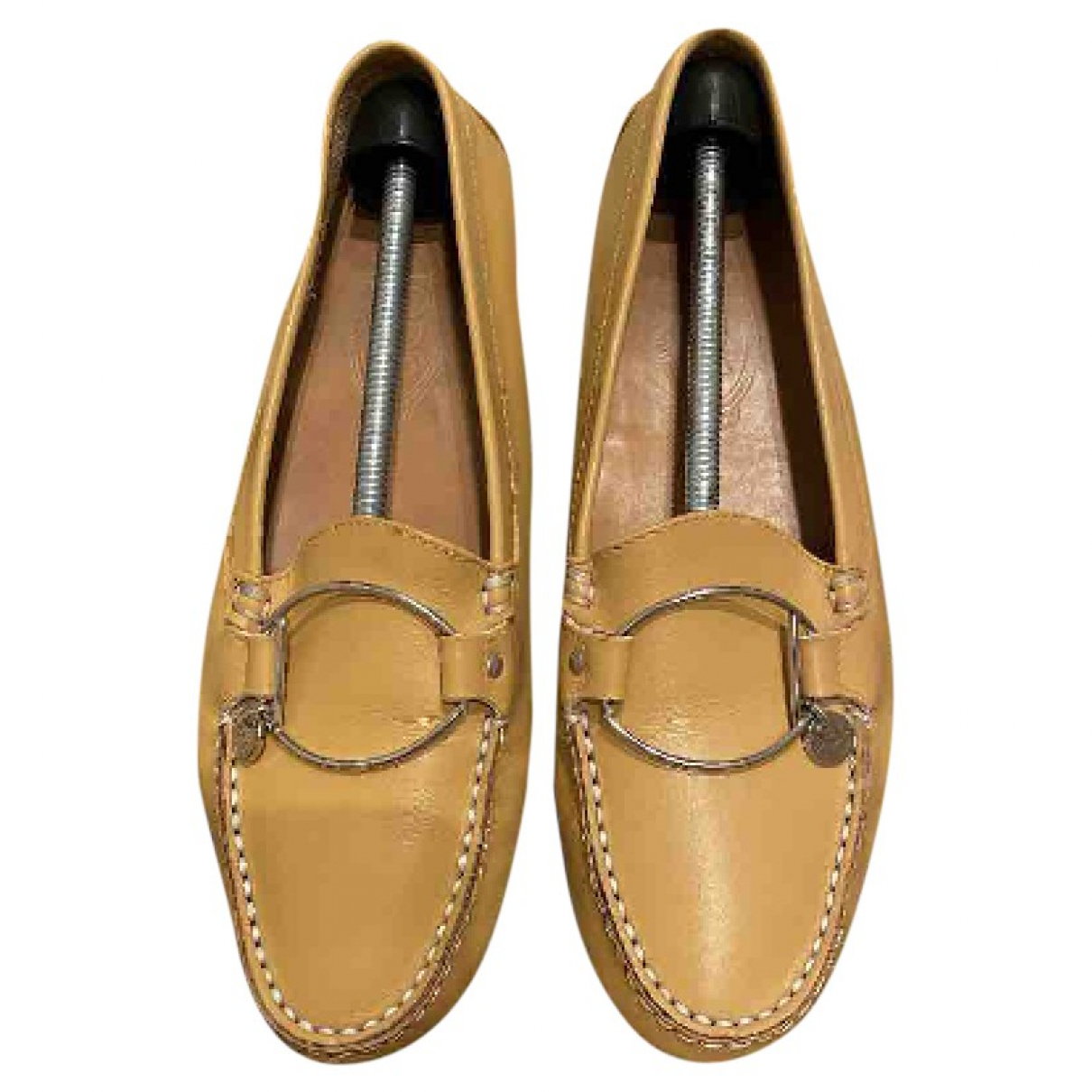 Tod's Gommino Leather Flats for Women 40 EU