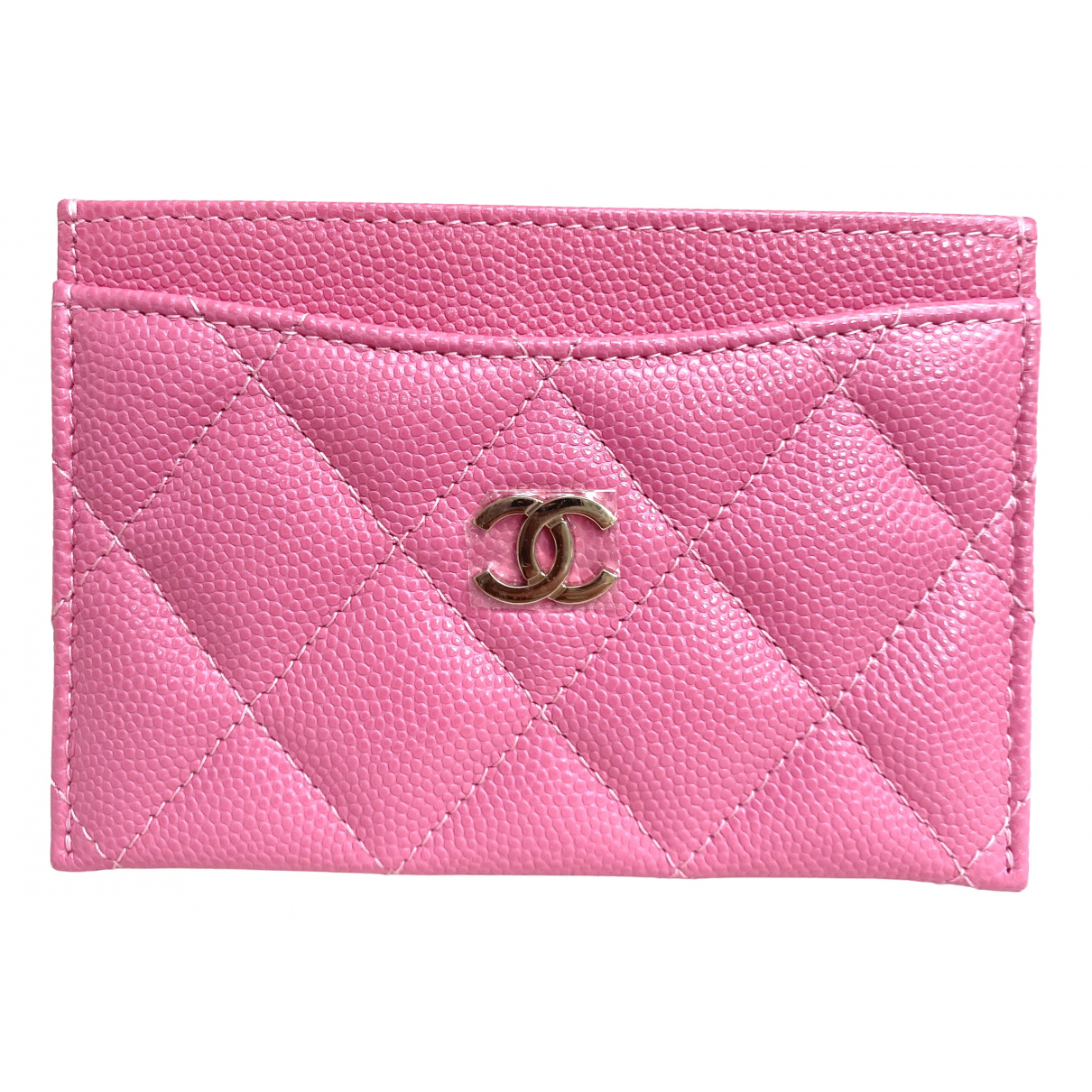 Chanel - Petite maroquinerie Timeless/Classique pour femme en cuir - rose