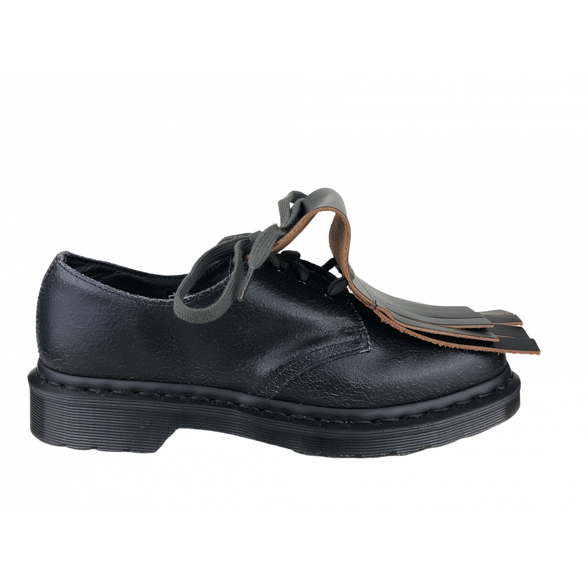 Dr. Martens 1461 (3 eye) Black Leather Lace ups for Women 40 EU