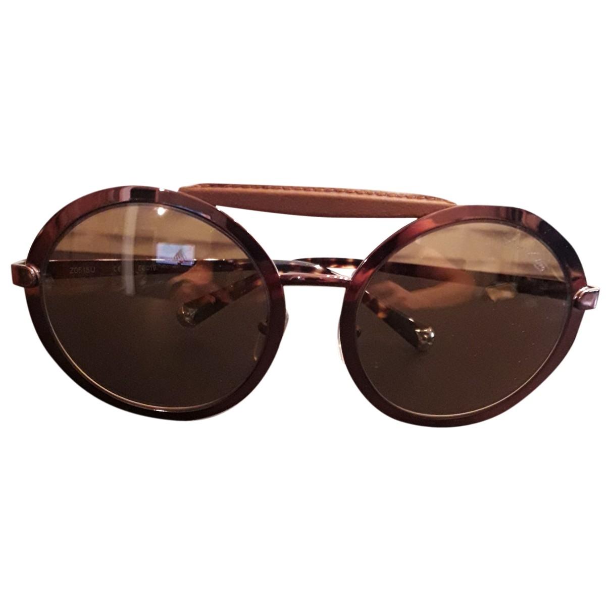 Louis Vuitton \N Brown Metal Sunglasses for Women \N
