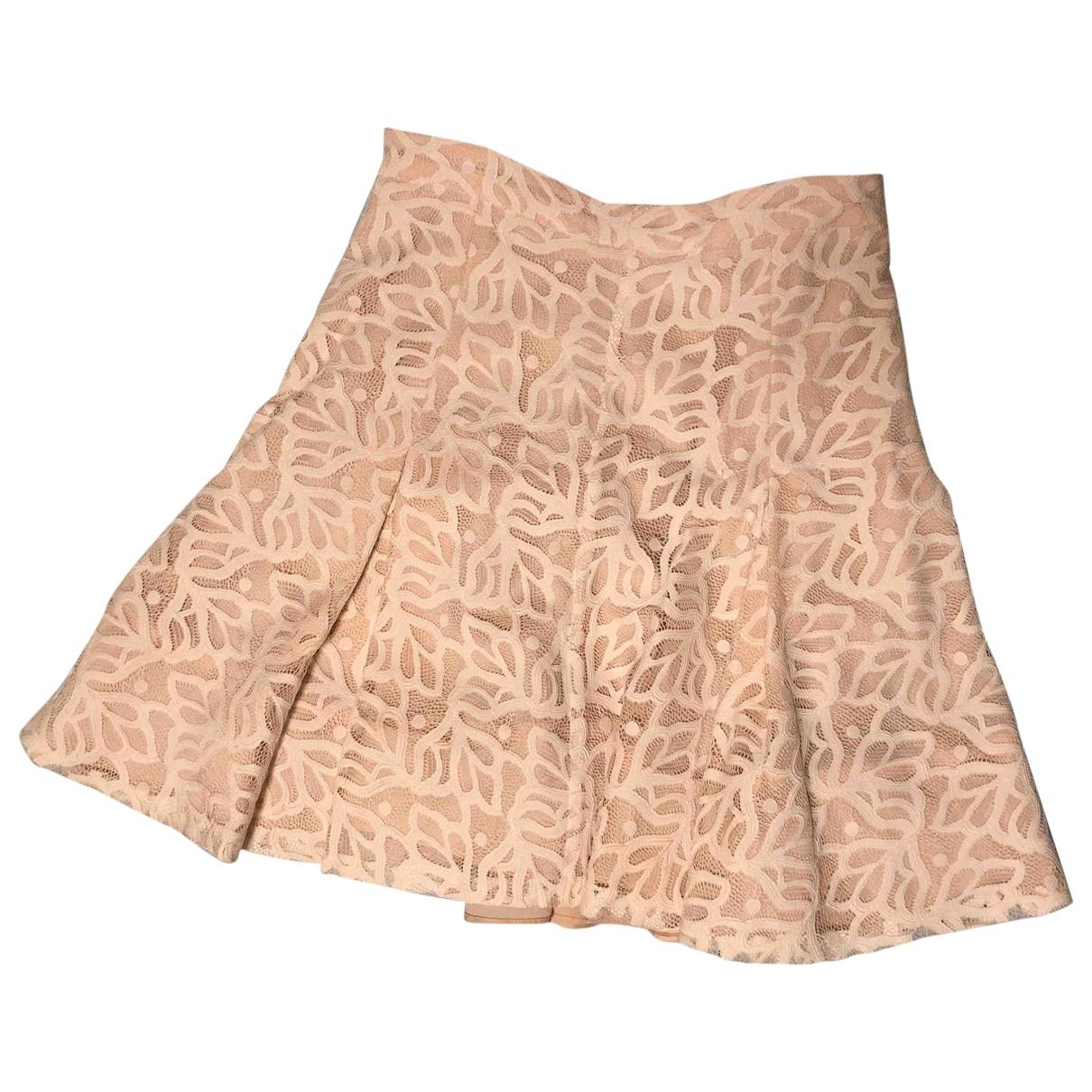 Sandro \N Pink skirt for Women 1 0-5