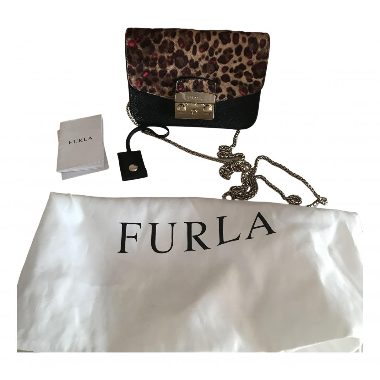 Furla Metropolis Pony-style calfskin handbag for Women \N