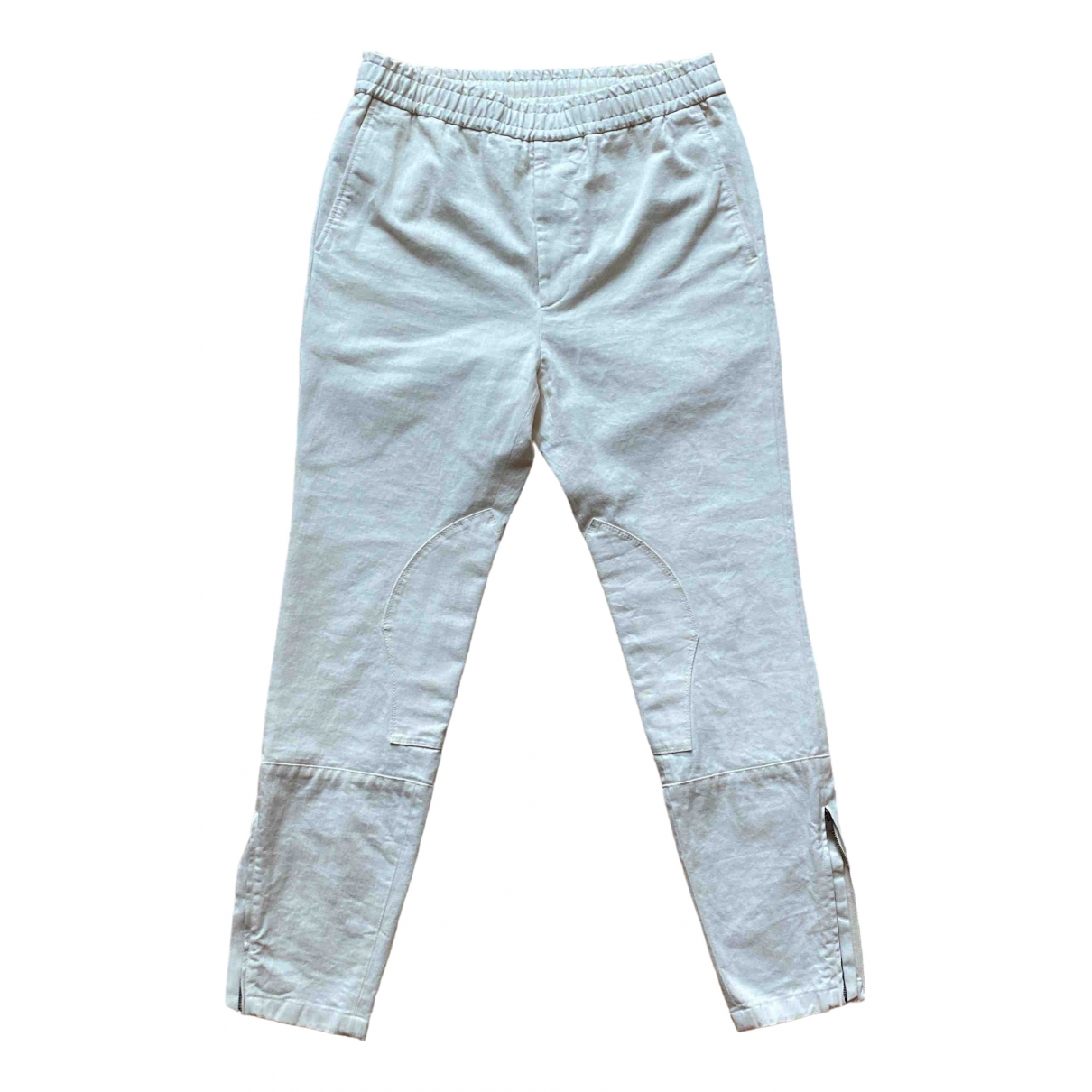Gucci \N White Cotton Trousers for Men 46 IT