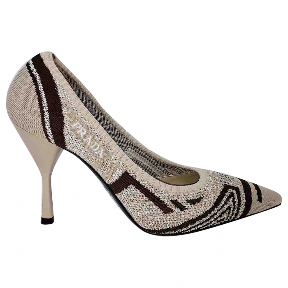 Prada N Beige Heels for Women 39 IT