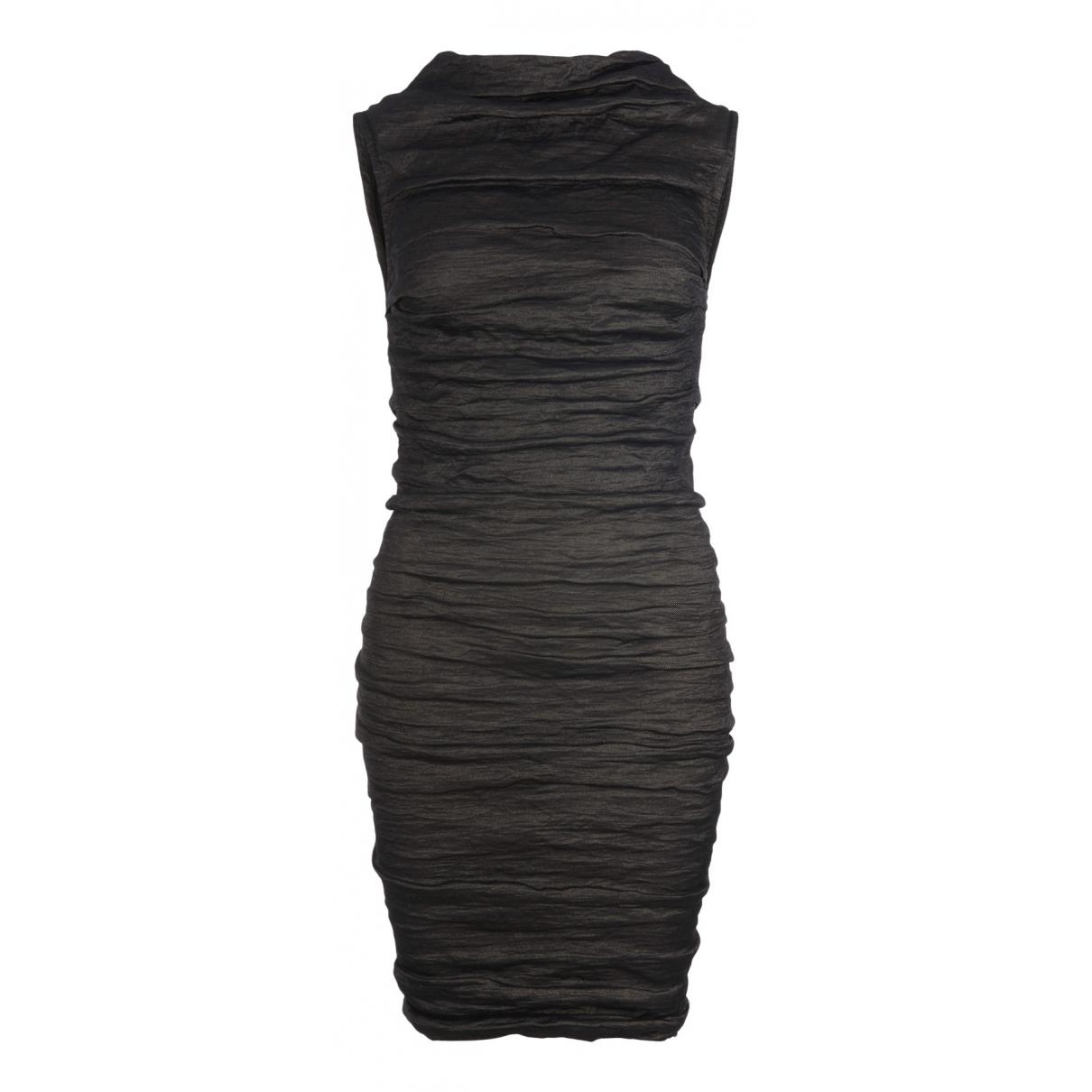 Lanvin N Black Silk dress for Women 8 UK