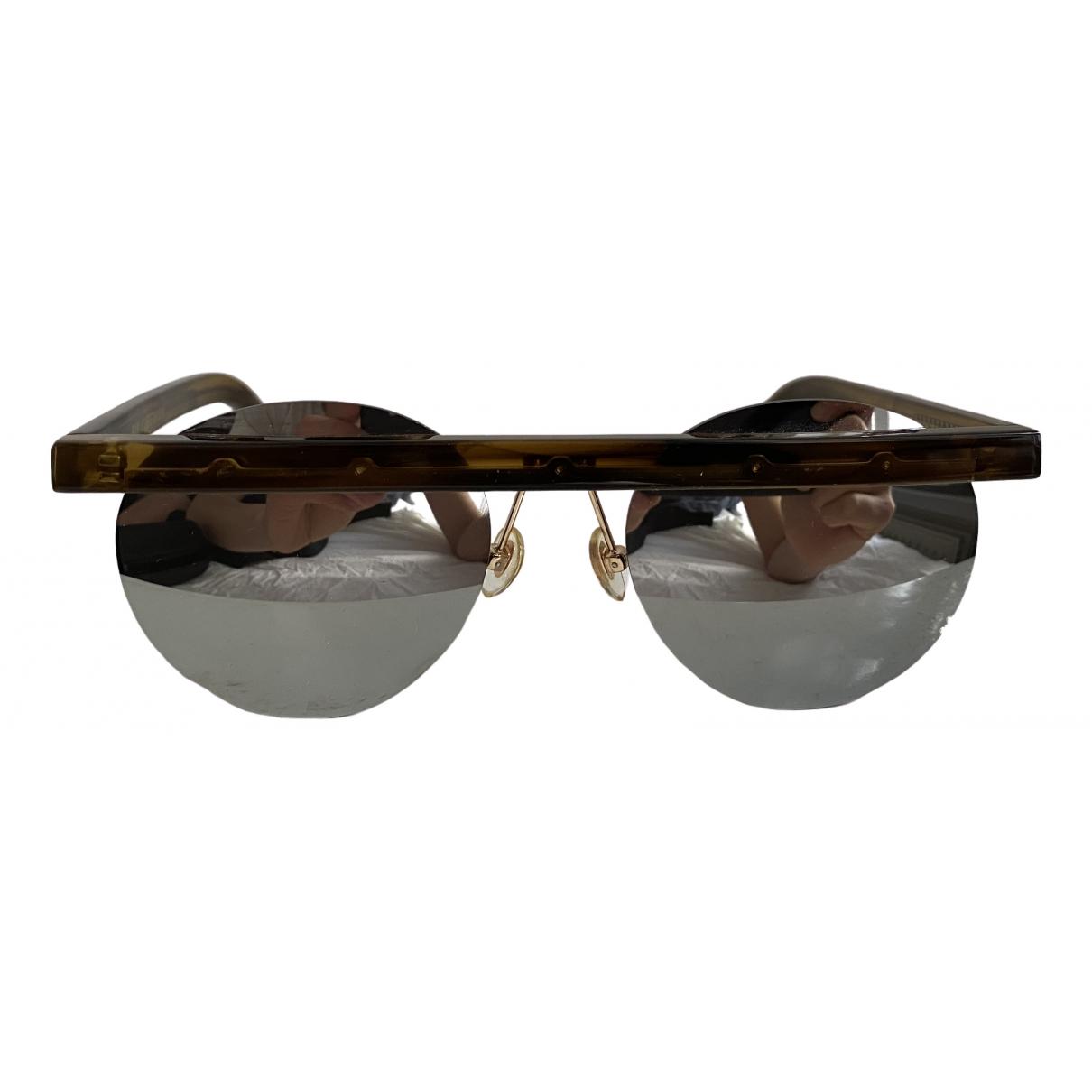 Han Kjobenhavn \N Turquoise Sunglasses for Men \N