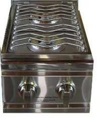 SOSB Side Shelf with Deluxe Wok Style Side Burner  Hose and
