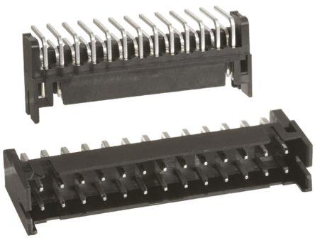 Hirose , DF11, 26 Way, 2 Row, Right Angle PCB Header (10)