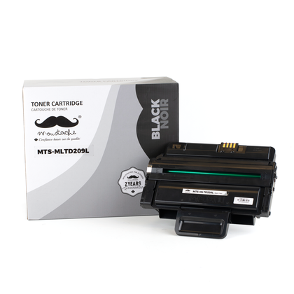 Compatible Samsung MLT-D209L Black Toner Cartridge High Yield - Moustache