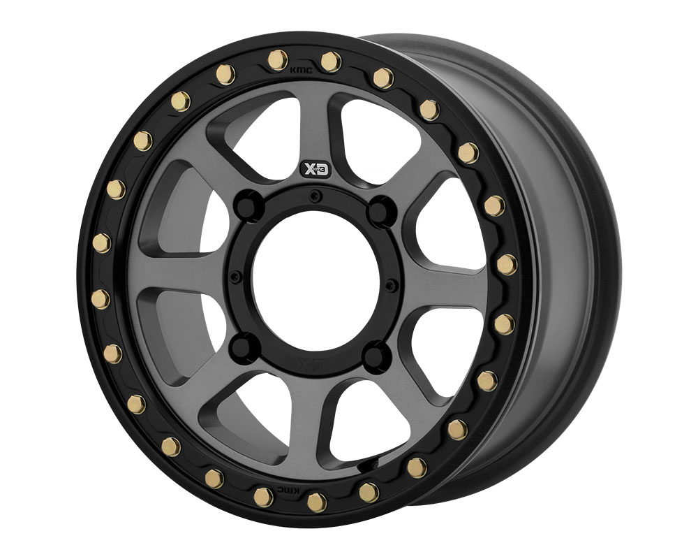 XD ATV XS234 Addict 2 Beadlock Wheel 14x7 4x4x137 +38mm Satin Gray