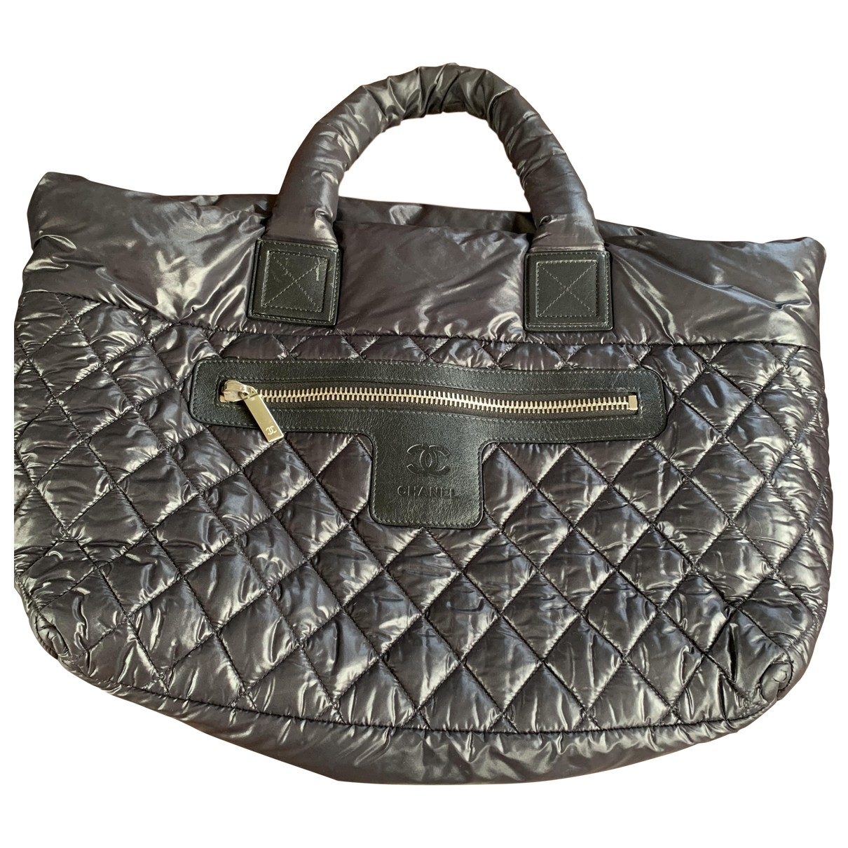 Chanel Coco Cocoon Black handbag for Women \N