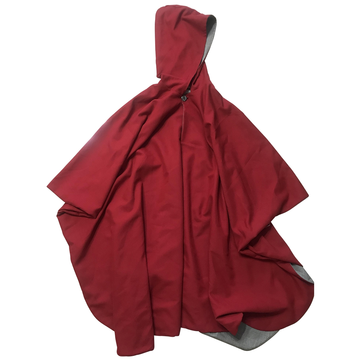 Non Signé / Unsigned Oversize Multicolour Cotton jacket for Women 42 IT