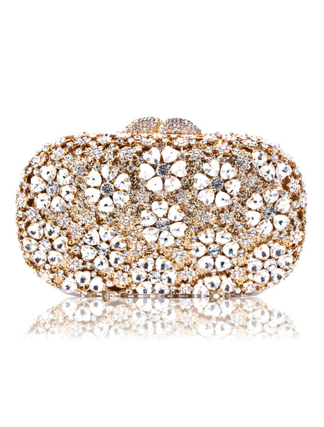 Milanoo Wedding Handbag Party Handbags Evening Clutch Bags Special Occasion Accessories
