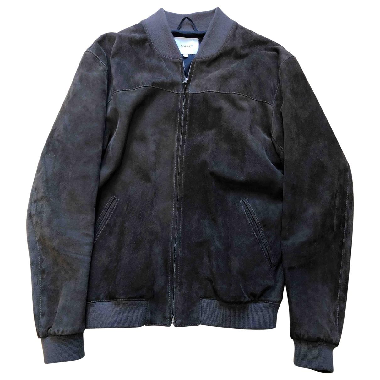 Jigsaw \N Brown Suede jacket  for Men XL International
