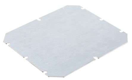 Fibox Mounting Plate 170 x 140 x 1.5mm for use with Tempo Enclosure
