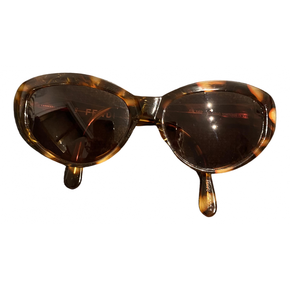 Fendi \N Brown Sunglasses for Women \N