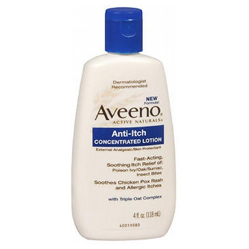 Aveeno Anti-Itch Concentrated Lotion 4 oz by Aveeno