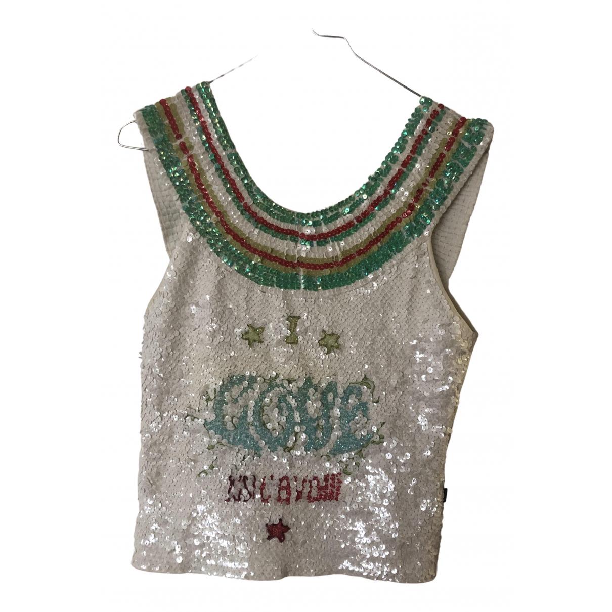 Just Cavalli \N Multicolour Glitter  top for Women 38 FR