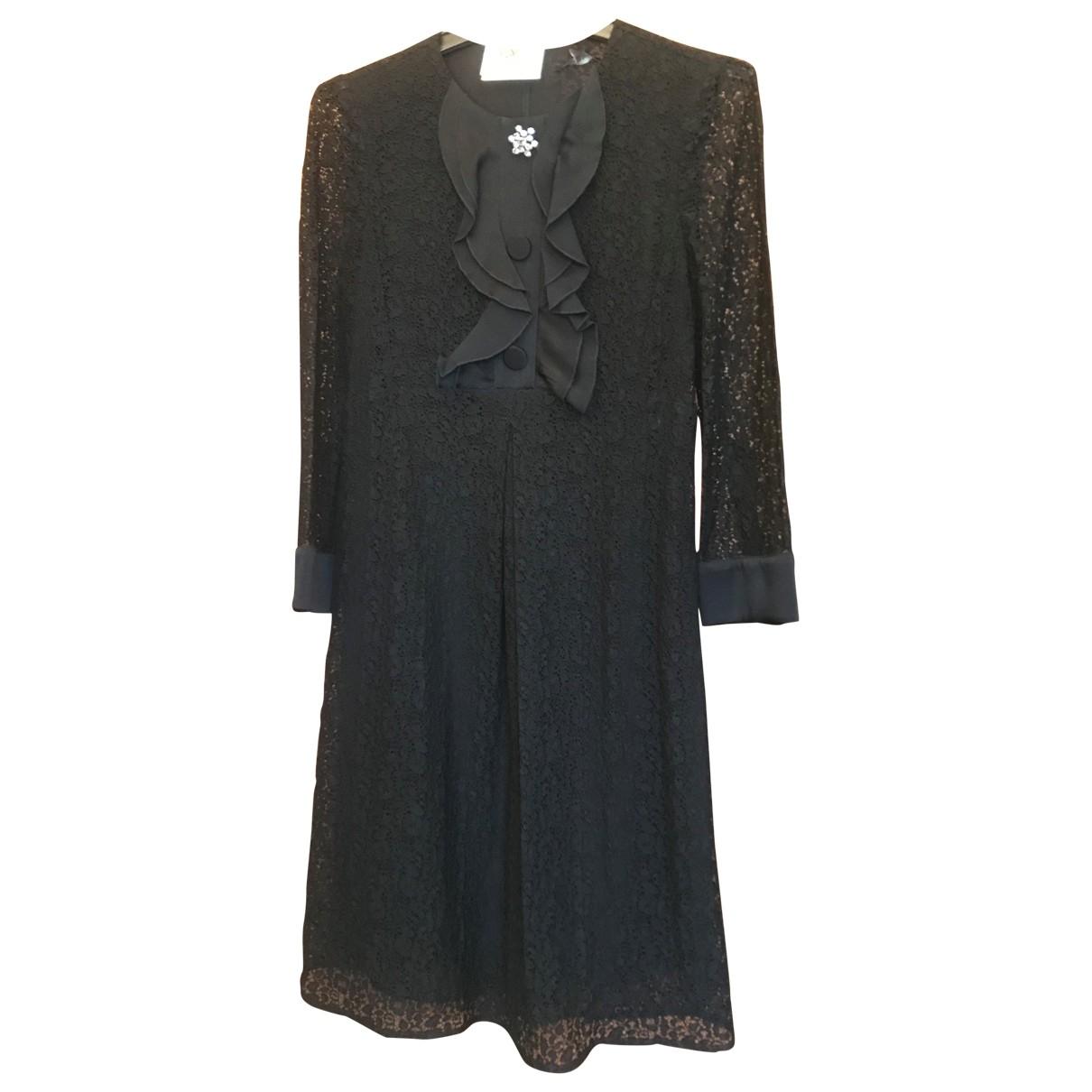 Tara Jarmon - Robe   pour femme en dentelle - noir