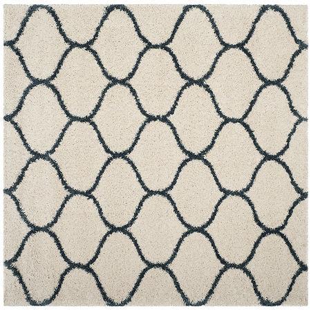 Safavieh Hudson Shag Collection Maria Geometric Square Area Rug, One Size , Multiple Colors