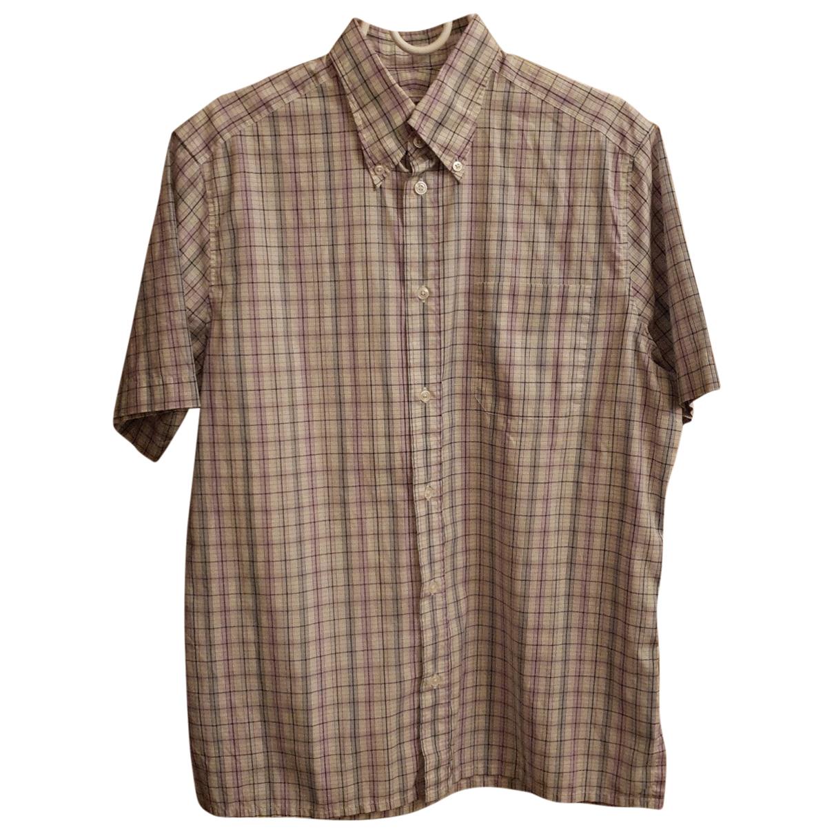 Hermes - Chemises   pour homme en coton - beige