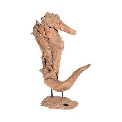 7162-067 Whinny Teak Sculpture  In Natural