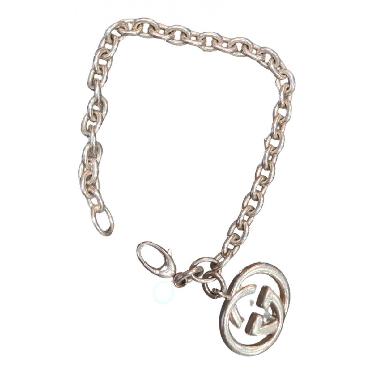 Gucci - Bracelet Icon pour femme en argent - argente