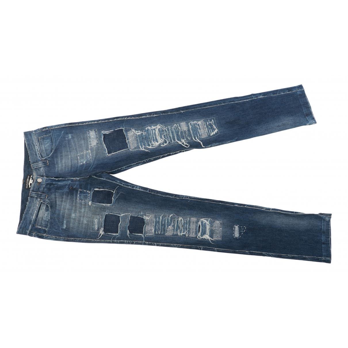 Dolce & Gabbana N Blue Cotton Jeans for Women 36 FR