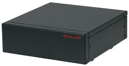nVent – Schroff Interscale M 3U Server Cabinet 133 x 399 x 221mm, Grey