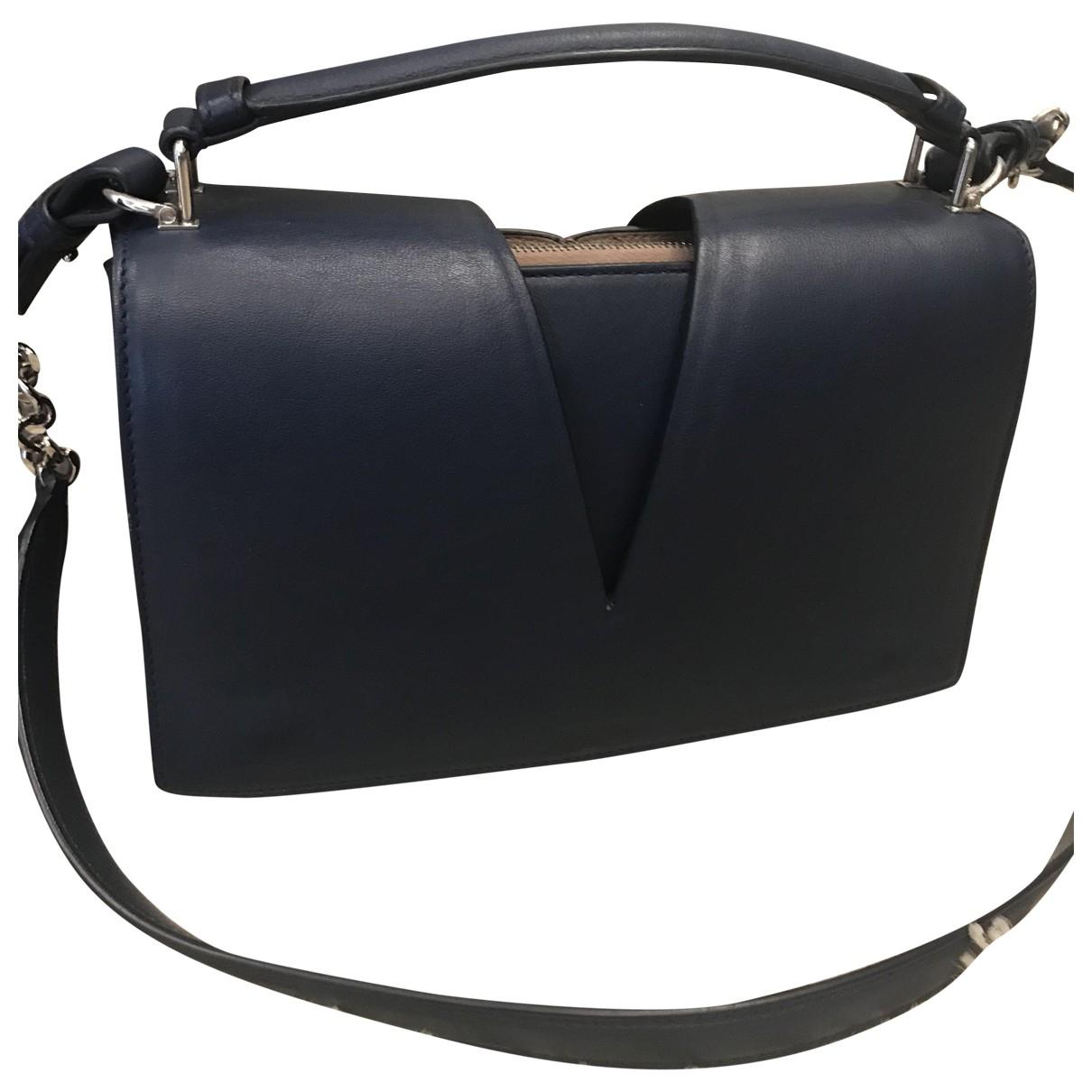 Jil Sander \N Blue Leather handbag for Women \N