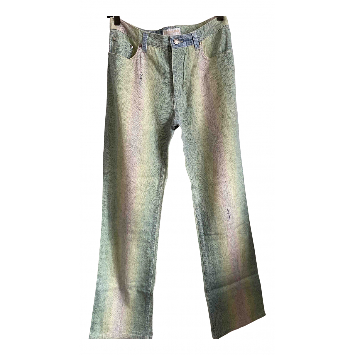 Roberto Cavalli N Multicolour Cotton Trousers for Women S International