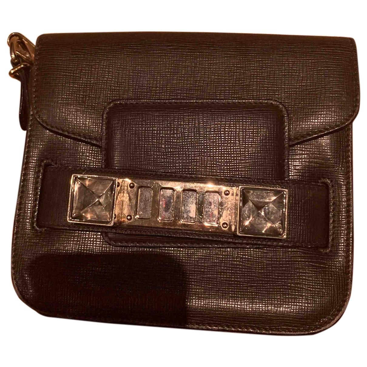Proenza Schouler PS11 Handtasche in  Braun Leder