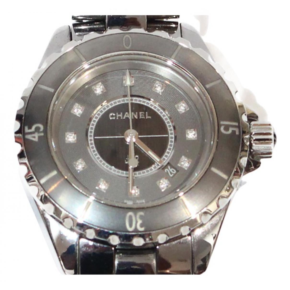Chanel J12 Automatique Grey Titanium watch for Women N