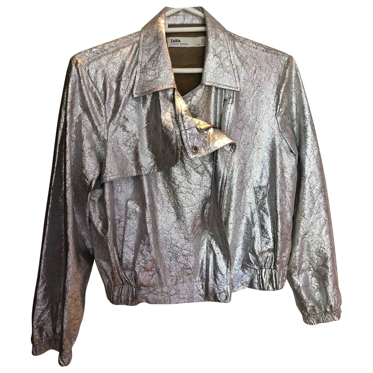 Zara \N Metallic jacket for Women S International