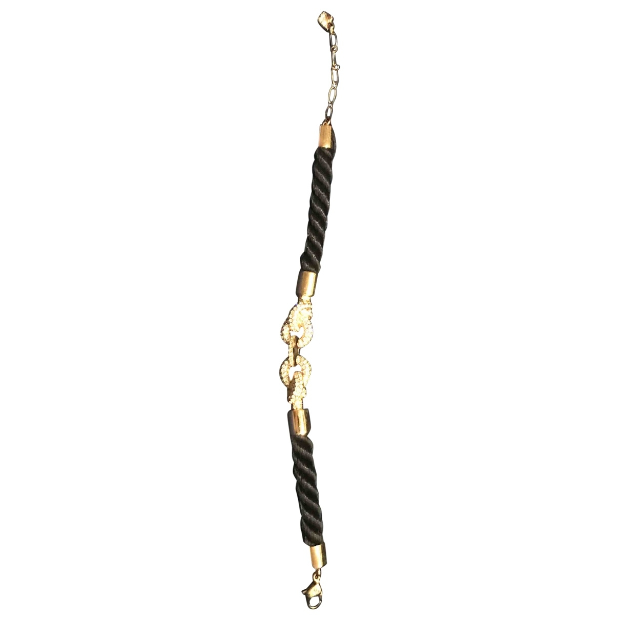 Swarovski - Bracelet   pour femme en metal - dore