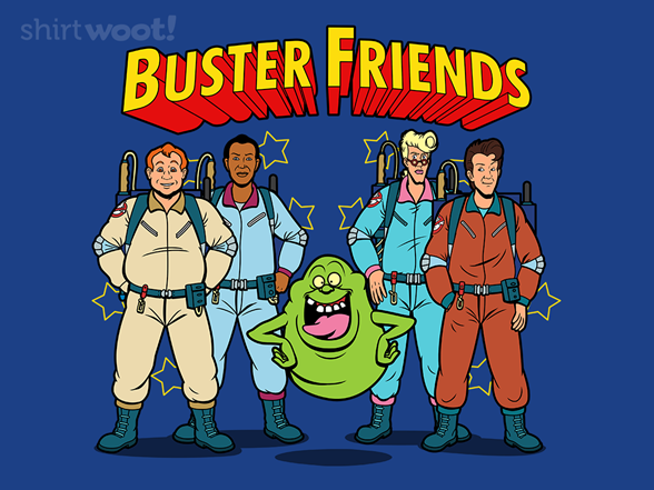 Buster Friends T Shirt