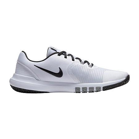 Nike Flex Control TR4 Mens Training Shoes, 13 Medium, White