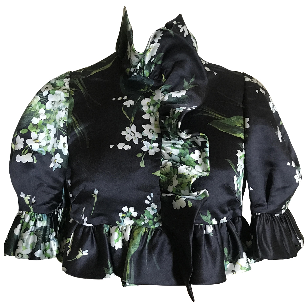 Dolce & Gabbana \N Multicolour Silk jacket for Women 40 IT